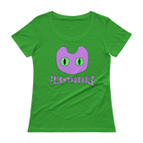 Frightdorable Cat T-Shirt (Womens), Apparel - Team Manticore