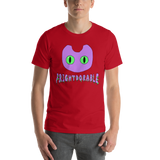 Frightdorable Cat T-Shirt (Mens)