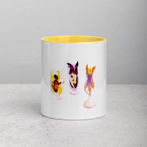Fairy Mug with Color Inside