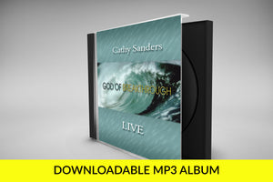 MP3 God of Breakthrough CD by Cathy Sanders - Full Album Download