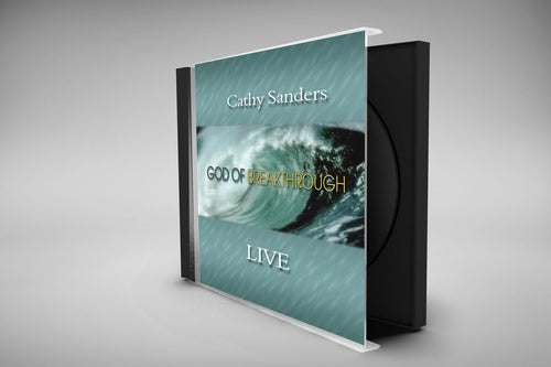 God of Breakthrough CD by Cathy Sanders