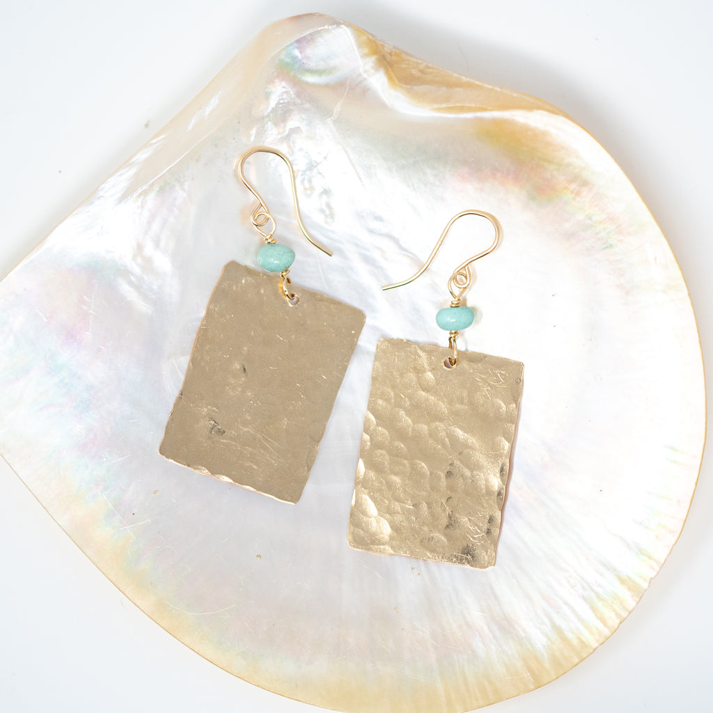 Gold-Filled Geo Earrings