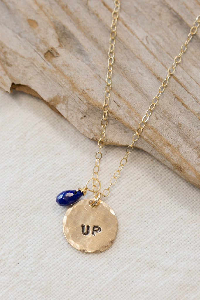 "Gold Filled ""Up"" Necklace"