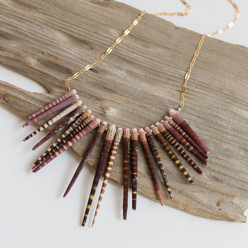 Sea Urchin Spine necklace