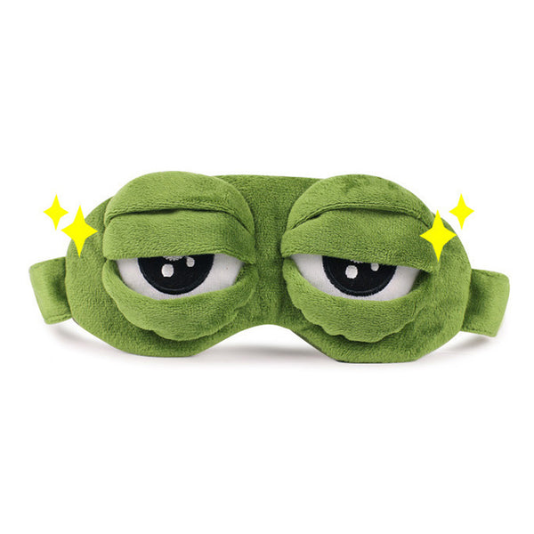 Frog 3D Eye Mask - TrendyHero