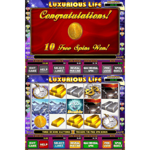 Gold Club 2 Multi Game by Trestle – Dual Screen