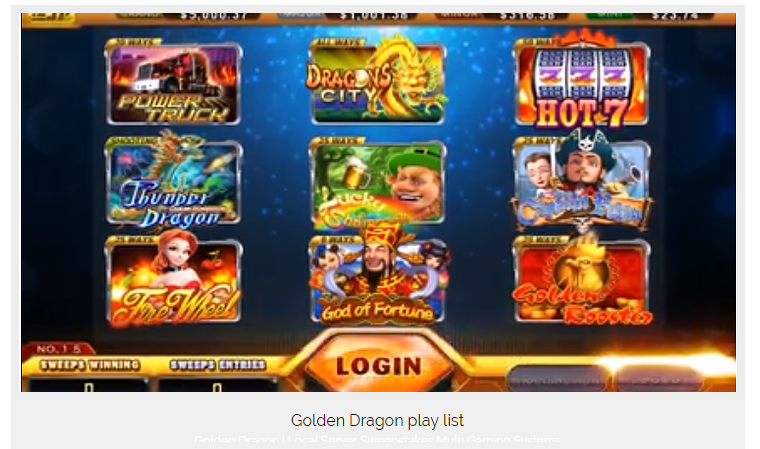 Golden Dragon Sweepstakes, Skill, Preview NEW