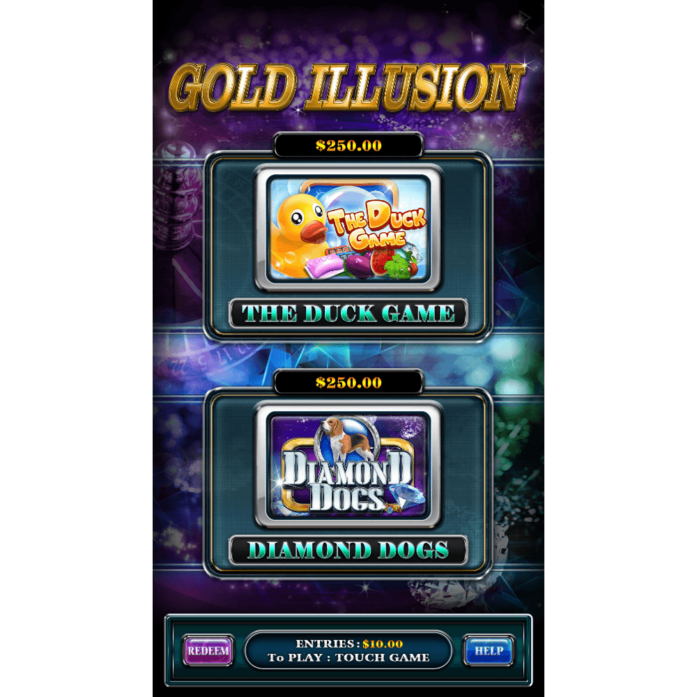 Gold Illusion 1 by Trestle – Vertical Game