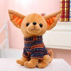 Plush Stuffed Chihuahua Toy for Dogs