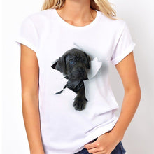 "Load image into Gallery viewer, ""Ha"" 3D T-shirt for Women"