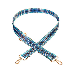 Multi-blue Pattern Strap