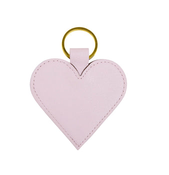 Large Heart Keyring