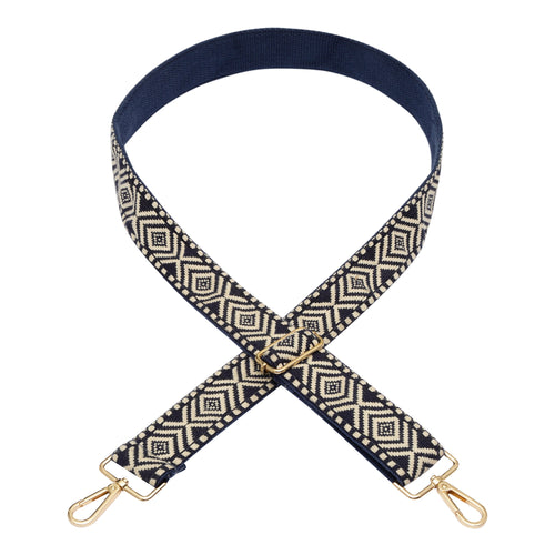 Blue & White Pattern Strap