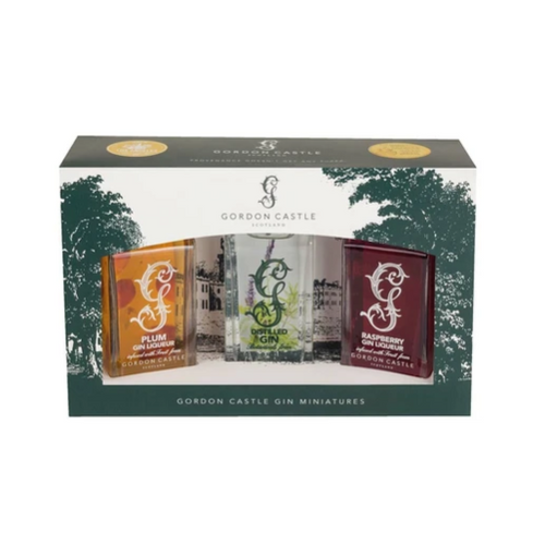 Gordon Castle Gin Trio Set