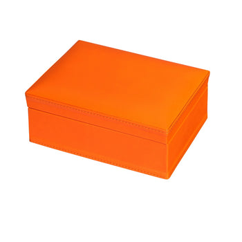Box of Cards in Tangerine