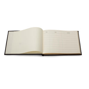 Original Small Lined Visitors Book