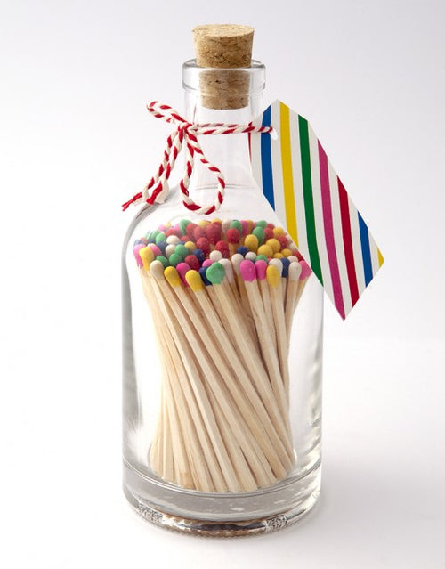 Multi Coloured Bottled Matches