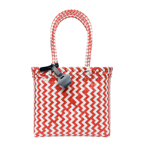 NM Recycled Shopper in Red