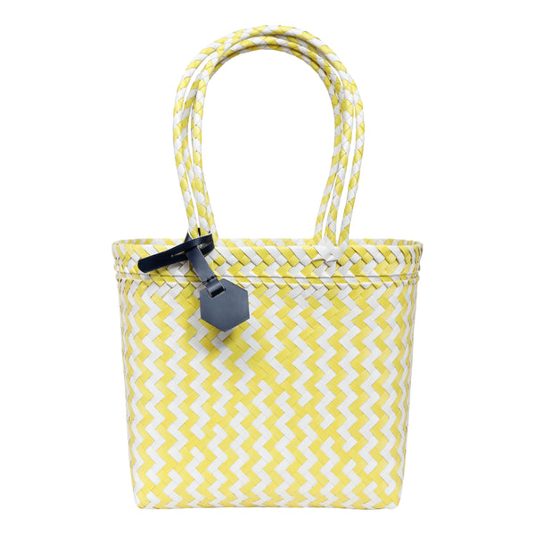 NM Recycled Shopper in Yellow