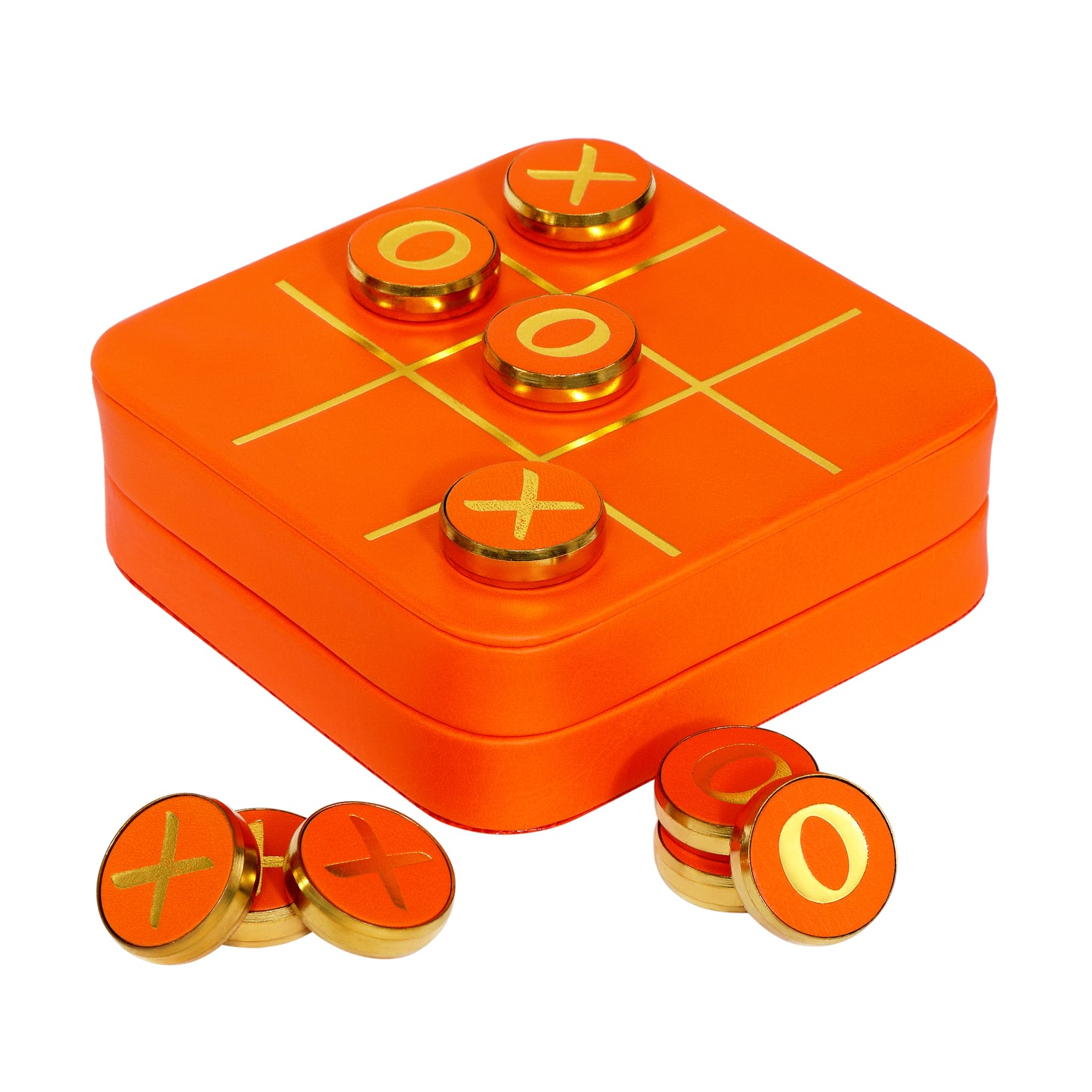 Tangerine Classic Noughts and Crosses