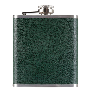 Racing Green Hip Flask