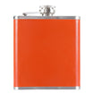 Orange Hip Flask