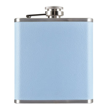 Duck Egg Blue Hip Flask