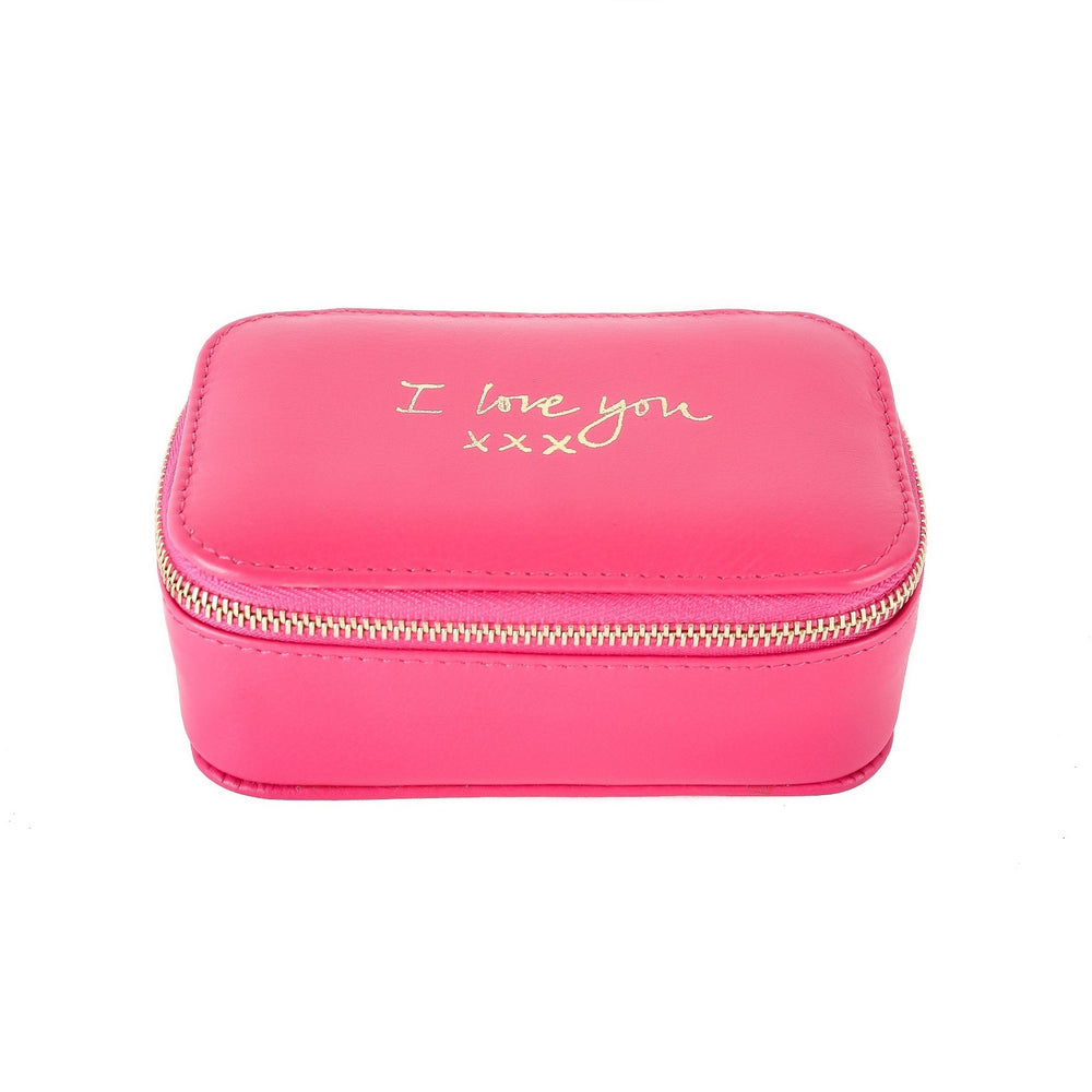 I Love You Travel Jewellery Box