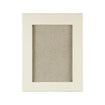 Ivory Portrait Leather Frame 8x6