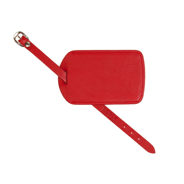 Chelsea Leather Luggage Tag