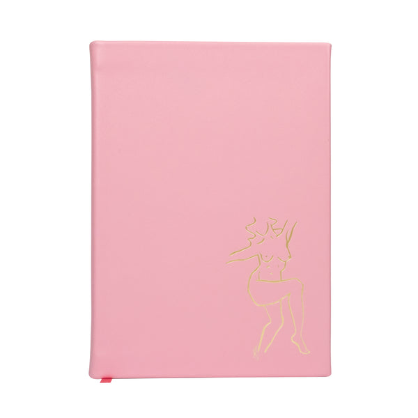 Noble Macmillan X Sasha Compton Pink Large Journal