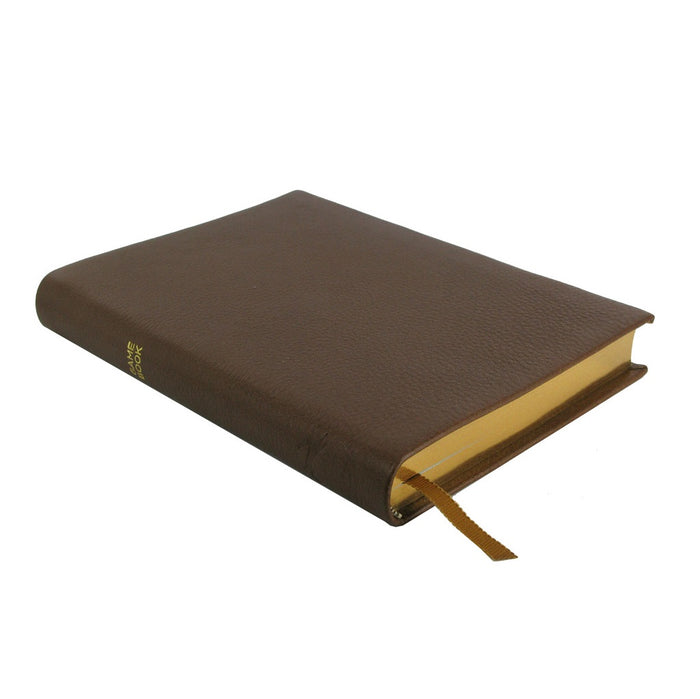 Marlborough Portrait Leather Game Book