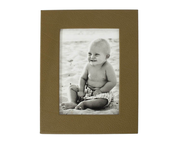 Marlborough Leather Photo Frame 8x6
