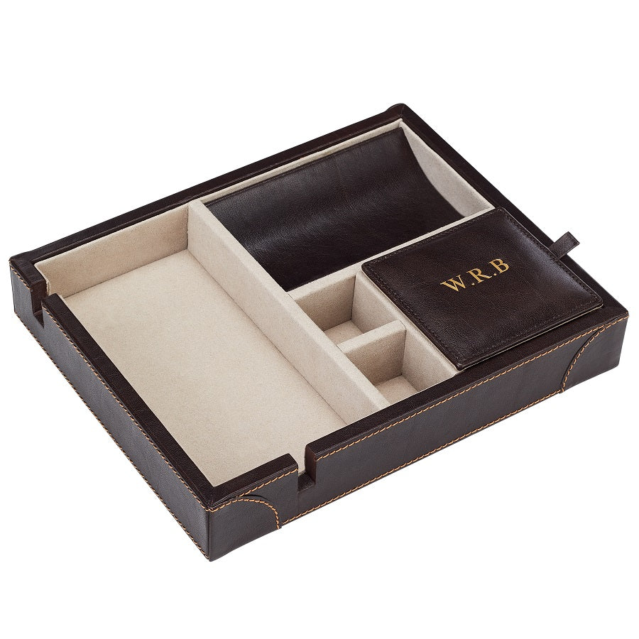 Luxury Valet Tray Mocha