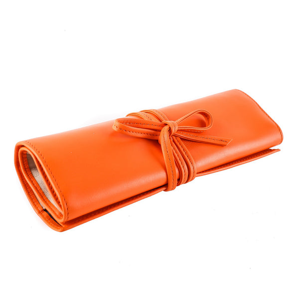 Chelsea Leather Jewellery Roll