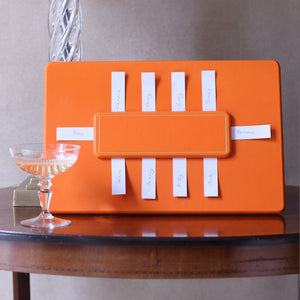 Chelsea Table Planner Tangerine