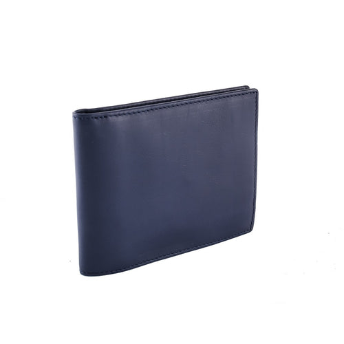 Sapphire Leather Coin Purse Wallet