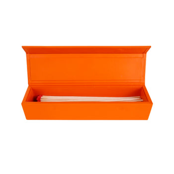 Luxury Matchbox in Tangerine