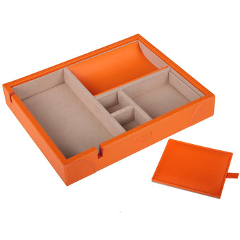 Luxury Valet Tray Tangerine