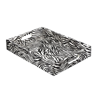 Large Zebra Tray