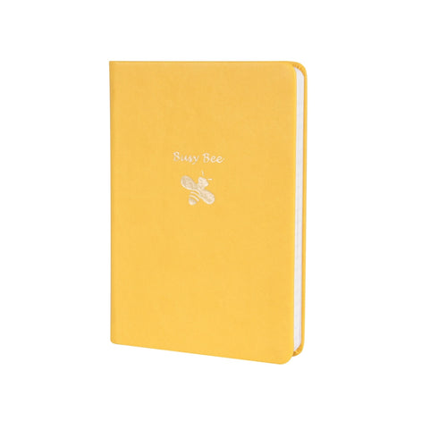 Busy Bee Pocket Lined Journal