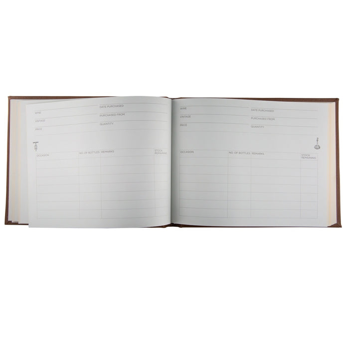 Marlborough Leather Cellar Book