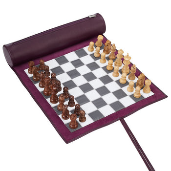Lazy Days Large Travel Chess Set