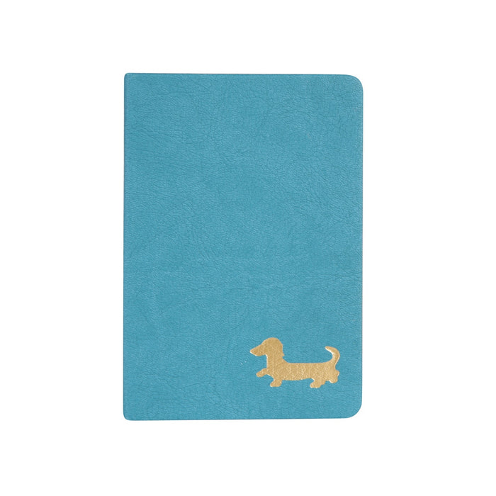 Small Lined Dachshund Journal