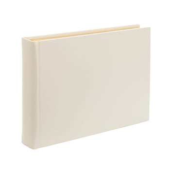 Ivory Large Landscape Leather Card Photo Album