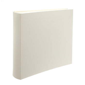 Ivory Square Leather Photo Album