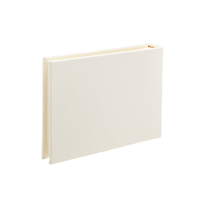 Ivory Landscape Leather Photo Album