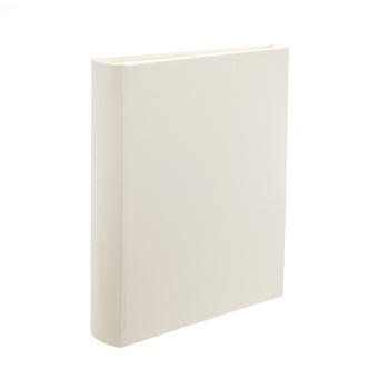 Ivory Portrait Leather Photo Album