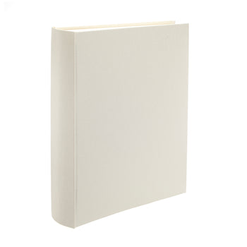 Linen Portrait Ivory Photo Album