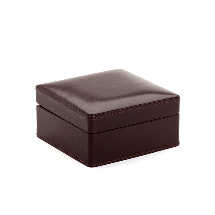 Chelsea Leather Cufflink Box